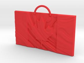 Creator Pendant in Red Processed Versatile Plastic