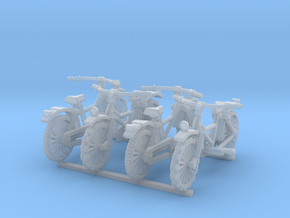 28mm scale Bicycle model 1 (4 pieces) in Smoothest Fine Detail Plastic