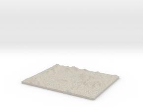 Model of Berkley in Sandstone