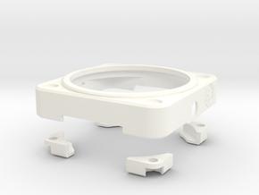 BR -361 TROOPER case for Moto 360 in White Processed Versatile Plastic