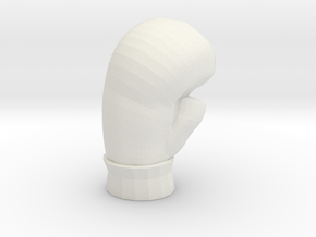 Boxing Glove Arrowhead in White Natural Versatile Plastic