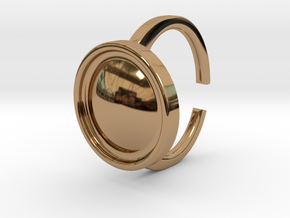 Ring 4-4 in Polished Brass