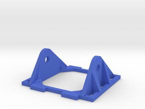 Reinforced FPV Camera Mount HS1177 in Blue Processed Versatile Plastic