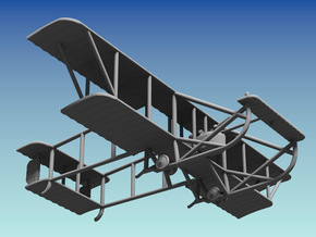 "Maurice Farman M.F.7 ""Longhorn"" in White Strong & Flexible: 1:144"