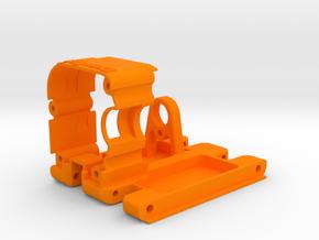 DravTech Transmission Center in Orange Processed Versatile Plastic