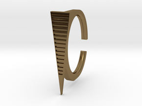 Ring 2-9 in Polished Bronze