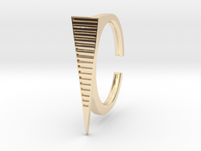 Ring 2-9 in 14k Gold Plated Brass