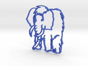 Baby Mammoth in Blue Strong & Flexible Polished