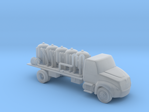 Chemical Delivery Truck - Nscale in Smooth Fine Detail Plastic