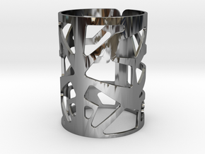 C9yj in Fine Detail Polished Silver