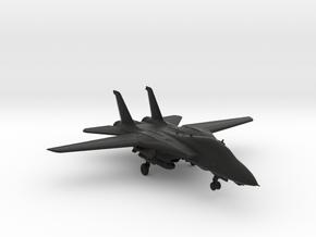F14 jet Tomcat big in Black Natural Versatile Plastic
