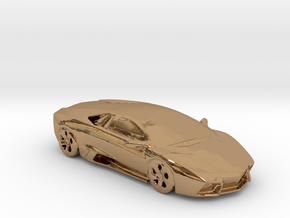 lamborghini gold 100mm in Polished Brass