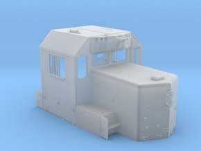 """CA0023 CPR 102"""" SD40-2 Cab, Late, Class Lts """"B"""" in Frosted Extreme Detail"""