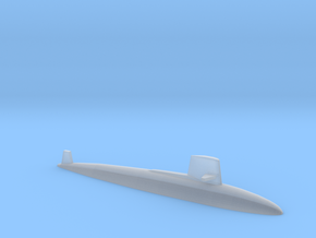 Skipjack class SSN, 1/2400 in Smooth Fine Detail Plastic