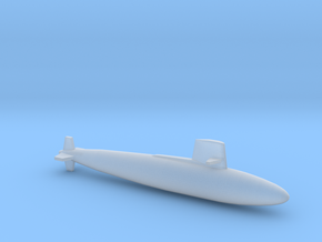 Skipjack class SSN, Full Hull, 1/1800 in Smooth Fine Detail Plastic