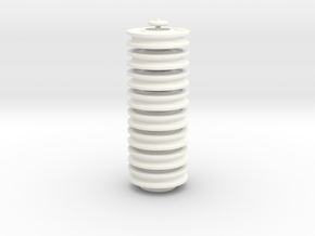 LEGO Pulley Blind in White Strong & Flexible Polished