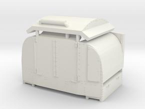 A-1-101-protected-simplex-doors-open-1 in White Natural Versatile Plastic