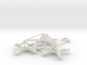 Sizzler - 1:160 (N scale) in White Strong & Flexible
