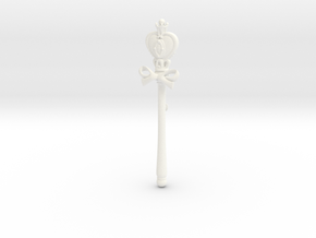 Sailor Moon Spiral Heart Rod SD  in White Processed Versatile Plastic