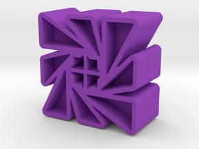 Icon #35 in Purple Processed Versatile Plastic