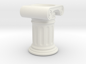 Roman Holder Egg in White Natural Versatile Plastic