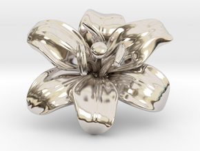 Lily Flower 1 - M in Platinum