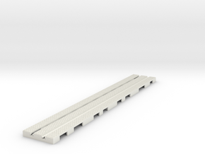 P-9stx-long-straight-1a in White Natural Versatile Plastic