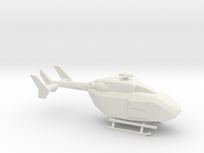 10mm (1/144) UH-72A in White Natural Versatile Plastic