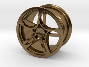 Wheel Lamborghini in Polished Bronze