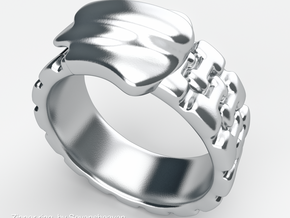 Zipper ring in Stainless Steel