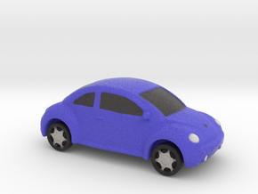 VW Beetle Full Color 3D Printer By Space 3D  in Full Color Sandstone