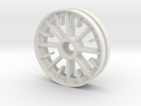 Panzer IV Idler Wheel Ausf. C-E  1/16 in White Strong & Flexible