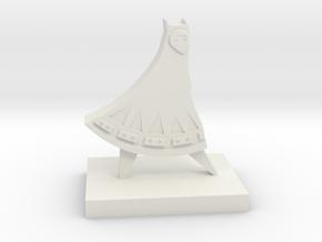 Journey Companion Trophy (White Version) in White Natural Versatile Plastic