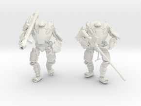 Combat Walkers HWS, 15mm Scale, Unbased in White Strong & Flexible