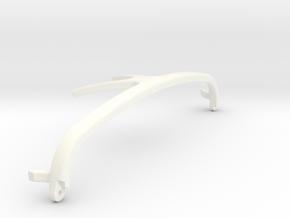 Bar in White Processed Versatile Plastic