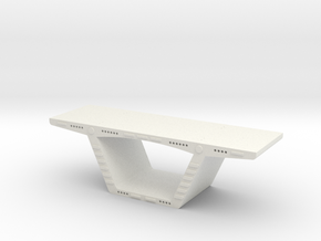 Precast Segment1 in White Strong & Flexible