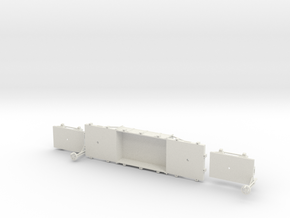 A-1-32-wdlr-f-wagon-body1c-plus in White Natural Versatile Plastic