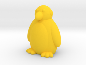 Penguin (Nikoss'Animals) in Yellow Strong & Flexible Polished