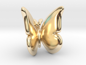Butterfly 1 - L in 14K Yellow Gold