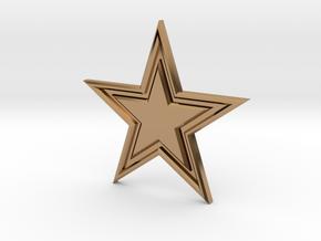 STAR-BASIC-1CHAMPERSTAR in Polished Brass