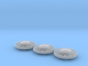 """FN0011 36"""" Cap Fan 1/87.1 in Smoothest Fine Detail Plastic"""