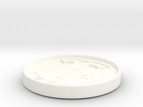 Teslasmooth in White Processed Versatile Plastic