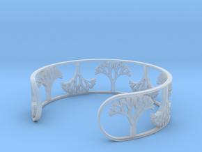 Natural Tree Bracelet 7in (18cm)  in Smooth Fine Detail Plastic