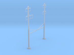 CATENARY PRR 4 TRACK 2-2 PHASE 3 PECO N SCALE  in Smooth Fine Detail Plastic