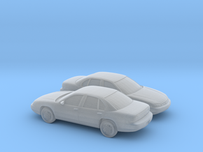 1/160 2X 1994-2000 Chevrolet Lumina in Smooth Fine Detail Plastic