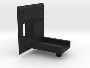 Active Hinge Servo Holder in Black Strong & Flexible