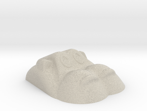 Hippopotamus-4 in Natural Sandstone