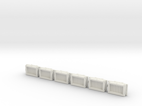 A-1-160-wdlr-a-class-open-fold-sides-wagon1c-x6 in White Natural Versatile Plastic
