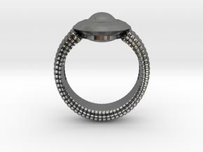 WunderWaffe Ring Alfa Ver1 SIZE10 in Premium Silver