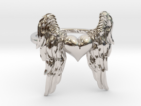 Ring Of The Angelic Heart in Platinum